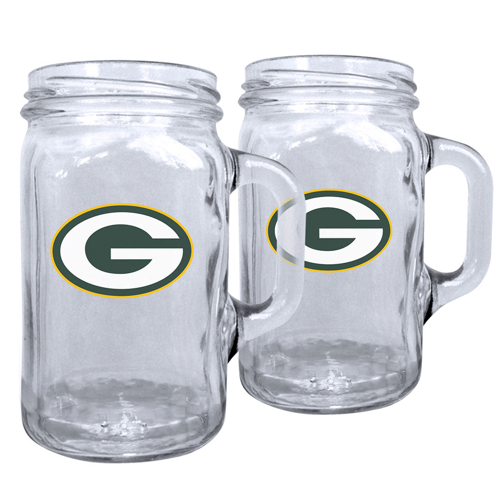 Green Bay Packers Mason Mug Set