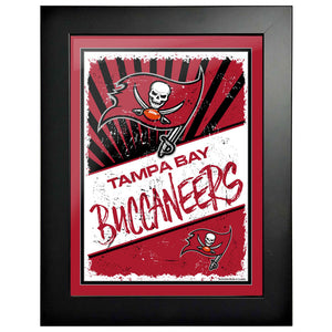 Tampa Bay Buccaneers 12x16 Classic Framed Artwork