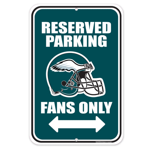 Philadelphia Eagles 10x15 Parking Sign