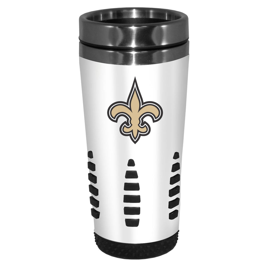 New Orleans Saints White Huntsville Travel Mug
