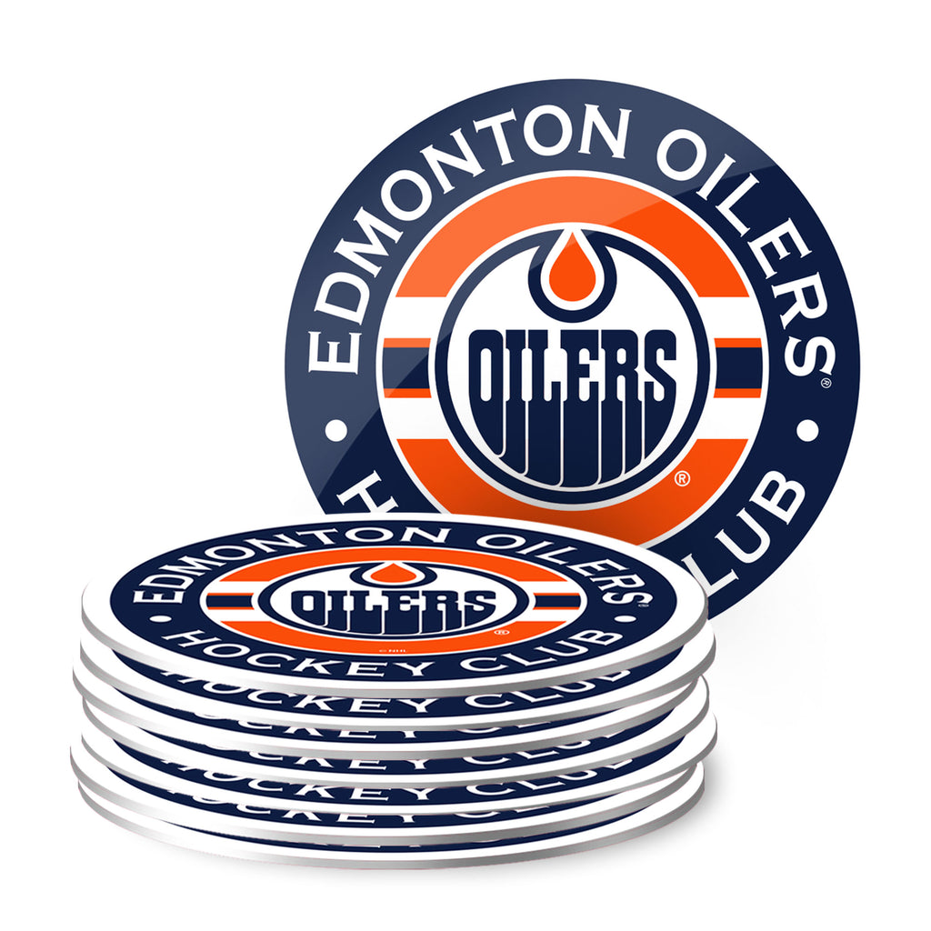 Edmonton Oilers Eight Pack Coaster Set