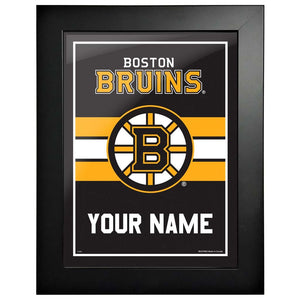 Boston Bruins -12x16 Team Personalized Pic Frame