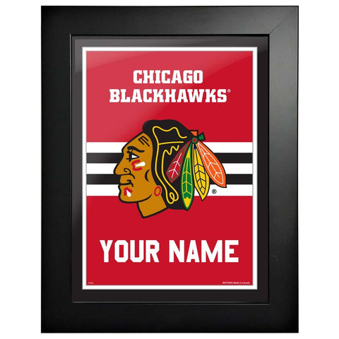 Chicago Blackhawks-12x16 Team Personalized Pic Frame