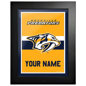 Nashville Predators-12x16 Team Personalized Pic Frame