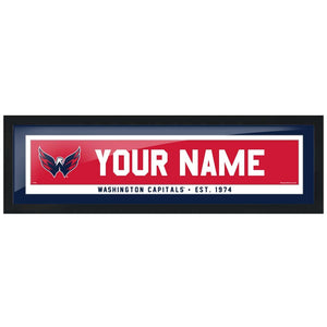 Washington Capitals-6x22 Team Personalization Pic Frame