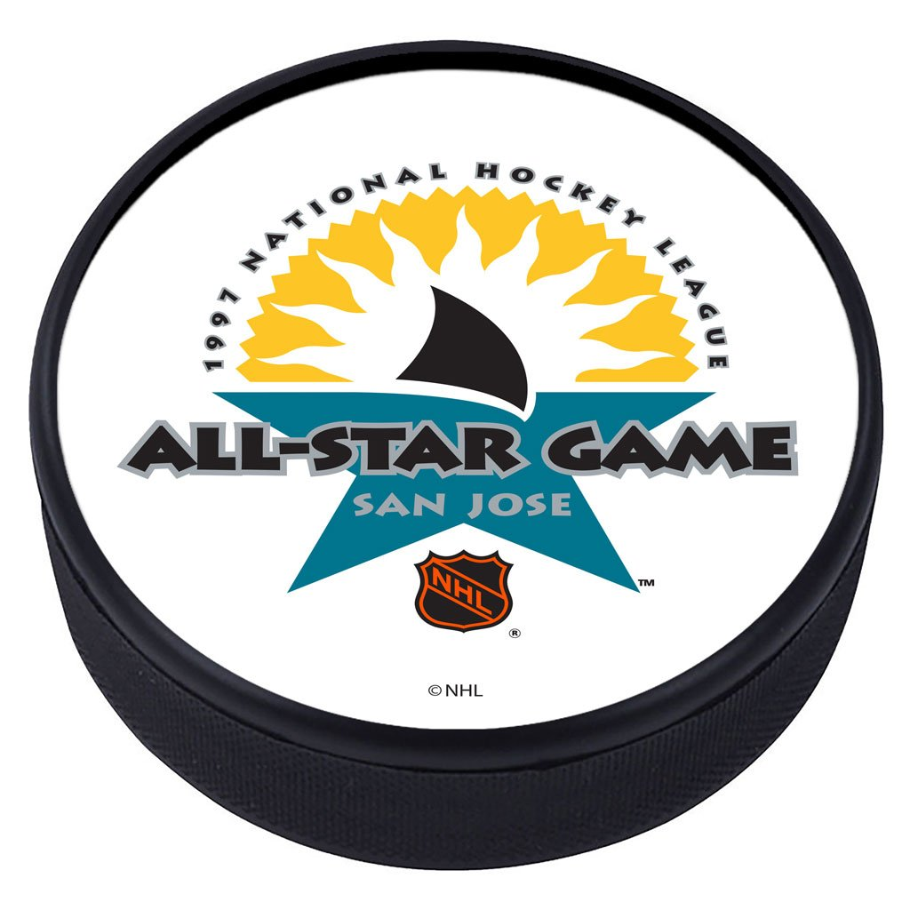 NHL All Star Game Textured Puck - 1997
