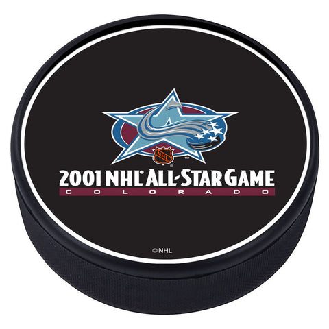 NHL All Star Game Textured Puck - 2001