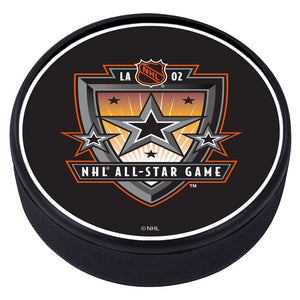 NHL All Star Game Textured Puck - 2002
