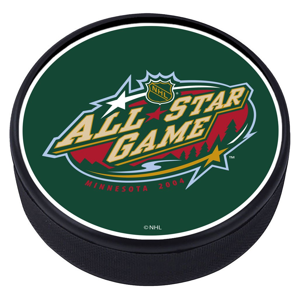NHL All Star Game Textured Puck - 2004