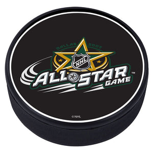 NHL All Star Game Textured Puck - 2007