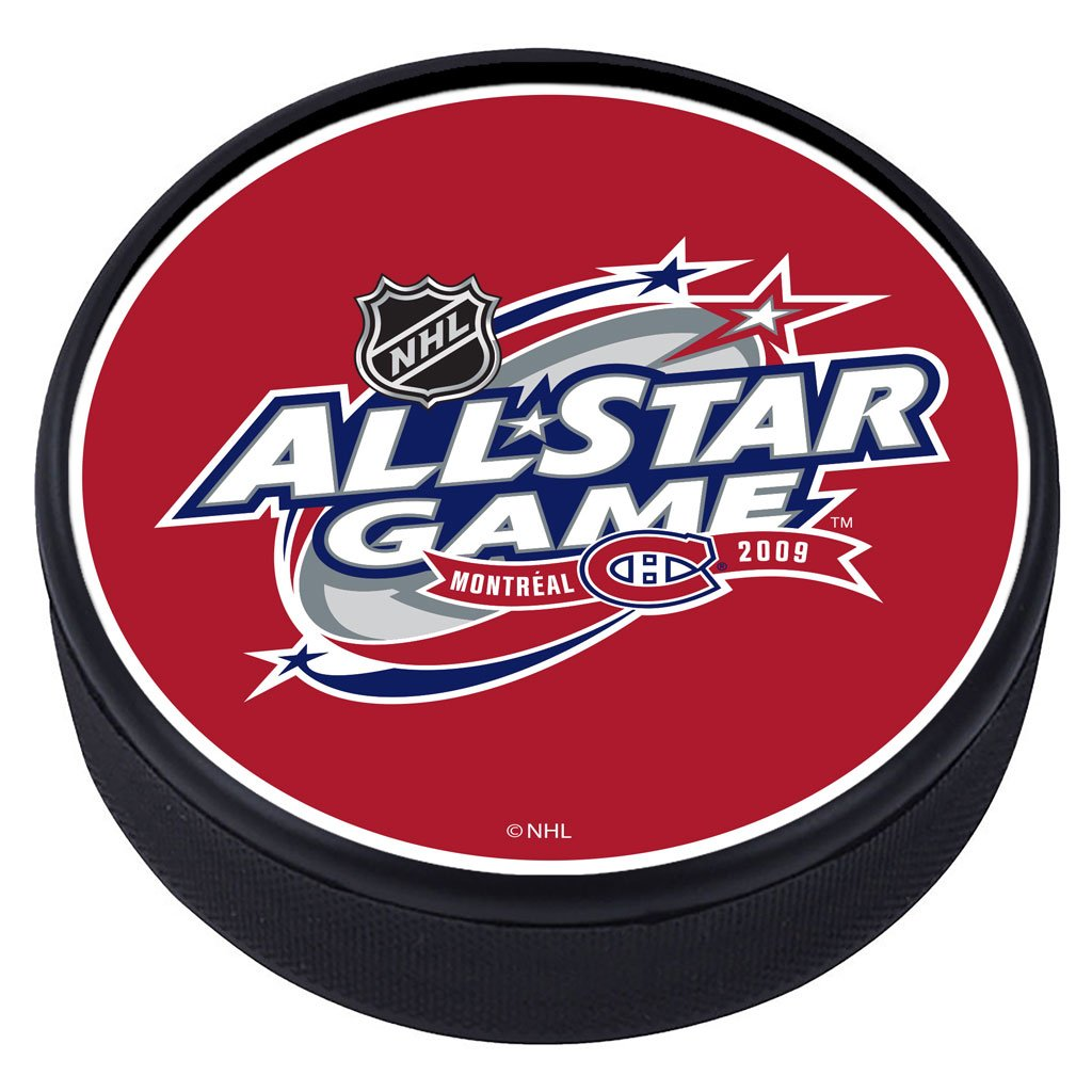 NHL All Star Game Textured Puck - 2009