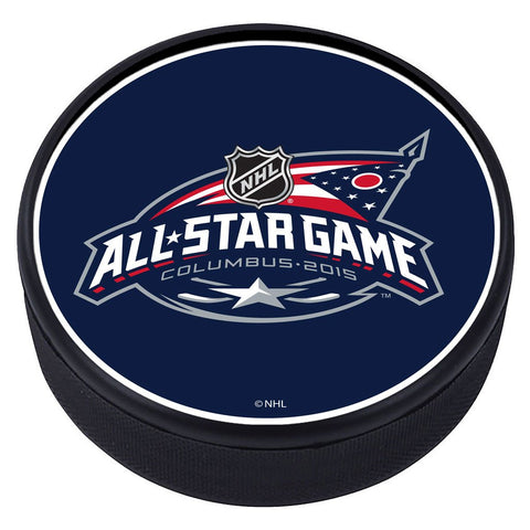 NHL All Star Game Textured Puck - 2015