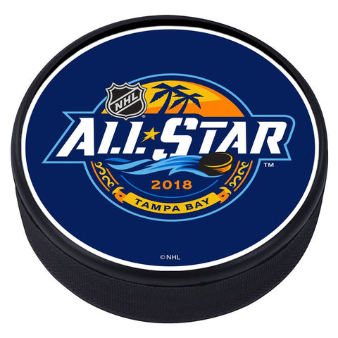NHL All Star Game Textured Puck - 2018