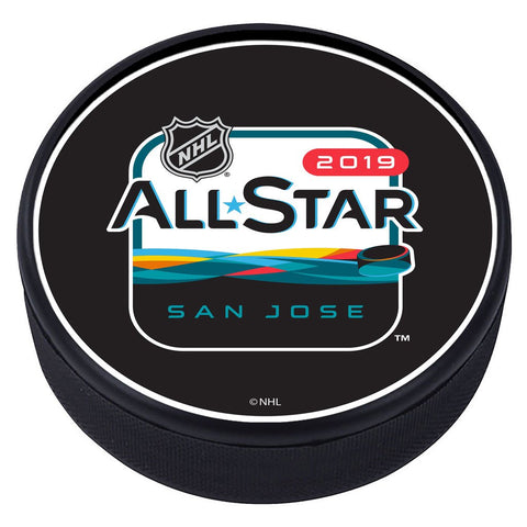 NHL All Star Game Textured Puck - 2019