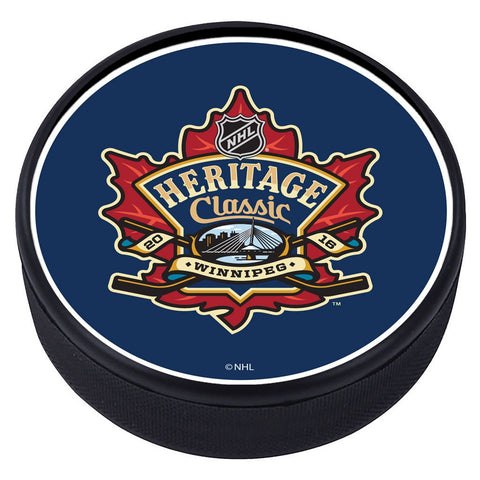 NHL Heritage Classic Textured Puck - 2016