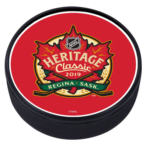NHL Heritage Classic Textured Puck - 2019