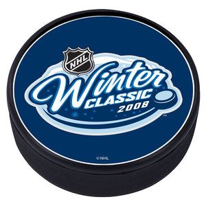 NHL Winter Classic Textured Puck - 2008