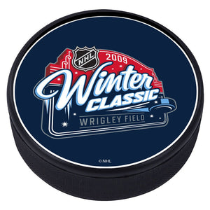 NHL Winter Classic Textured Puck - 2009