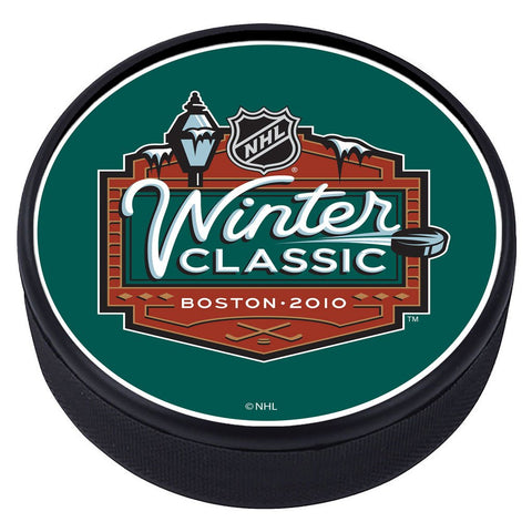 NHL Winter Classic Textured Puck - 2010
