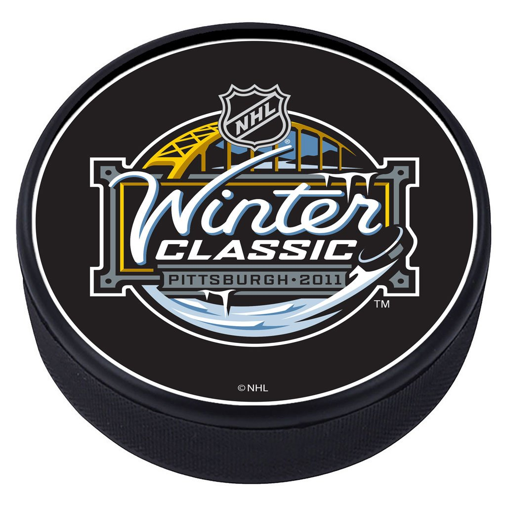 NHL Winter Classic Textured Puck - 2011