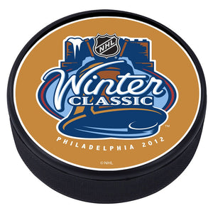 NHL Winter Classic Textured Puck - 2012
