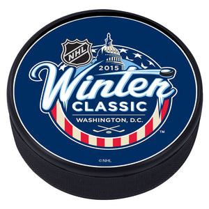NHL Winter Classic Textured Puck - 2015