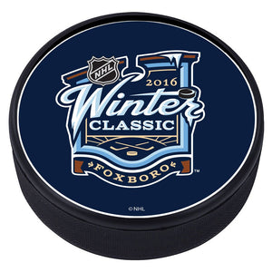 NHL Winter Classic Textured Puck - 2016