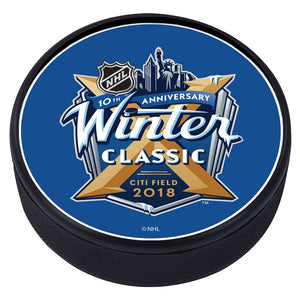 NHL Winter Classic Textured Puck - 2018