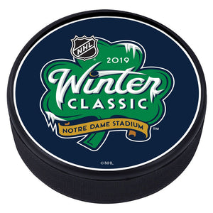 NHL Winter Classic Textured Puck - 2019
