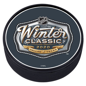 NHL Winter Classic Textured Puck - 2020