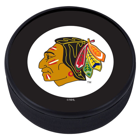 Chicago Blackhawks Vintage Classic Textured Puck
