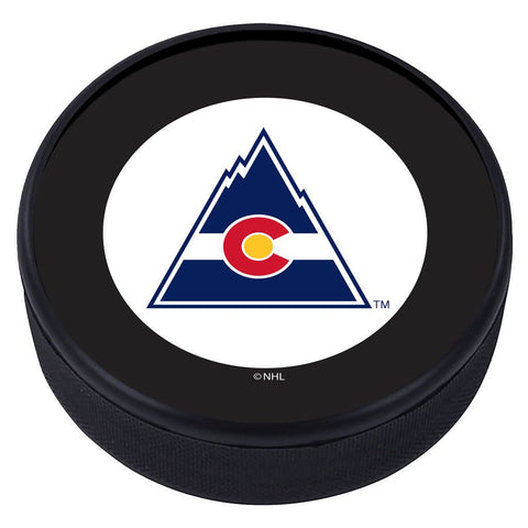 Colorado Rockies Vintage Classic Textured Puck