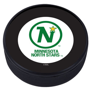 Minnesota North Stars Vintage Classic Textured Puck