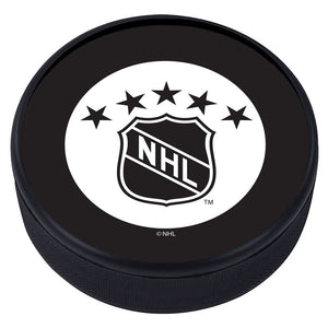 NHL Shield Vintage Classic Textured Puck - 1950