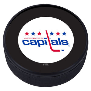 Washington Capitals Vintage Classic Textured Puck