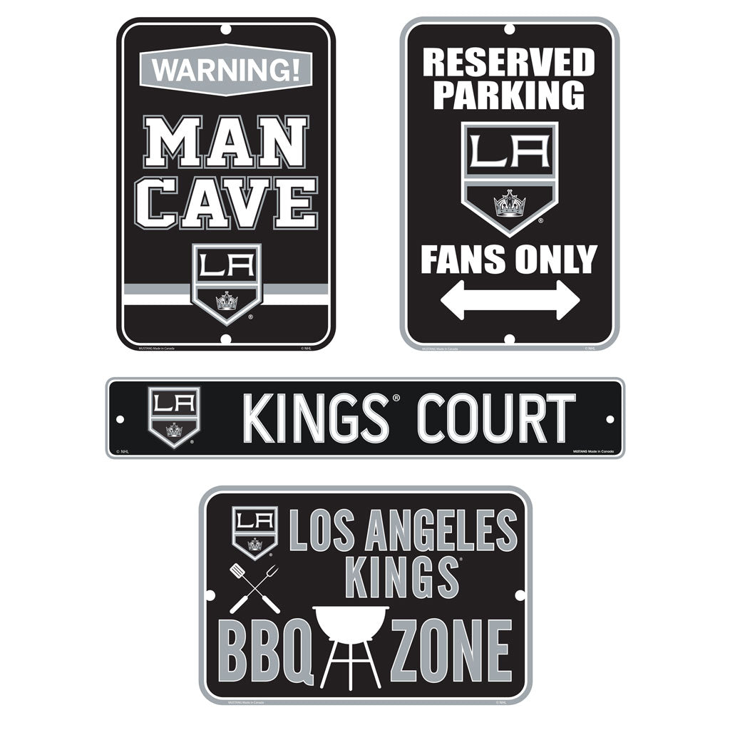 Los Angeles Kings Fan Four Pack Sign Set