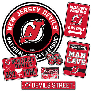 New Jersey Devils Ultimate Fan Set 7 piece