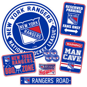 New York Rangers Ultimate Fan  Set 7 piece
