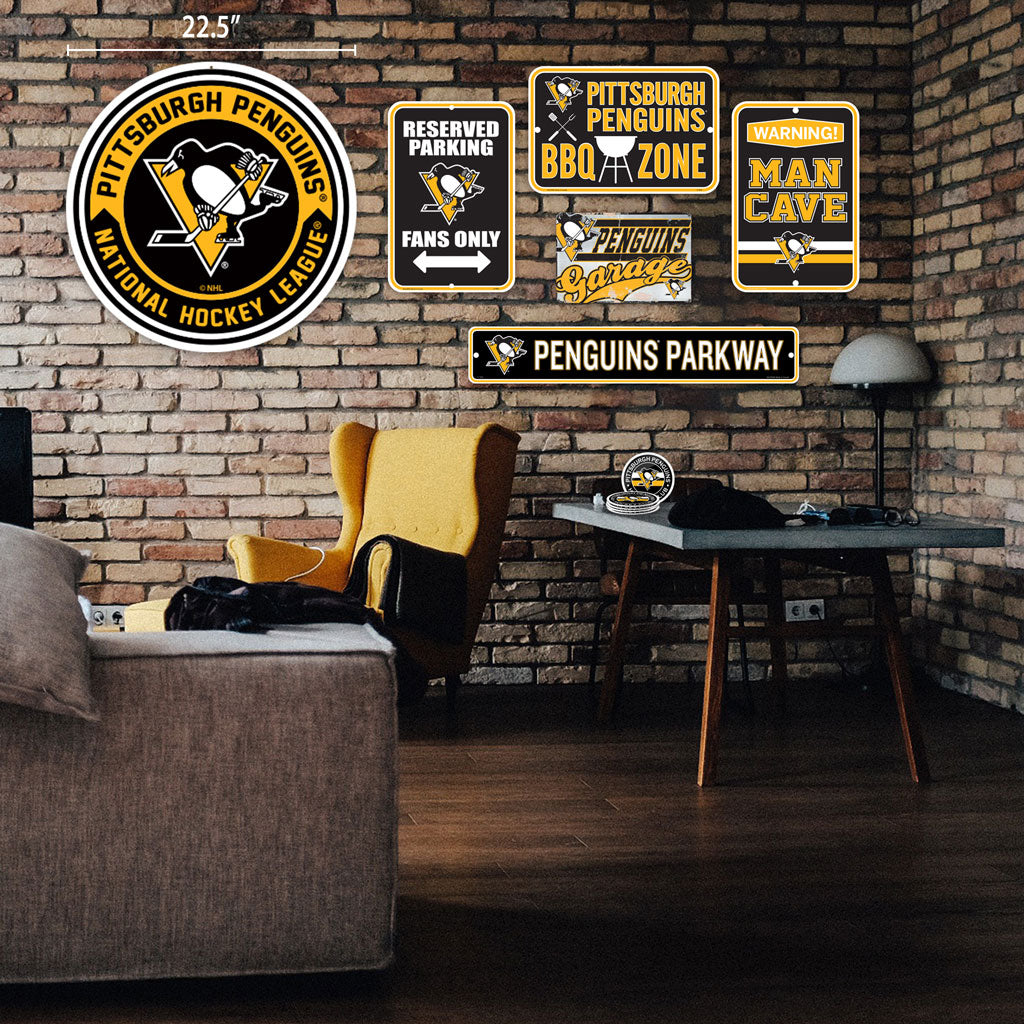 Pittsburgh Penguins Ultimate Fan Set 7 piece