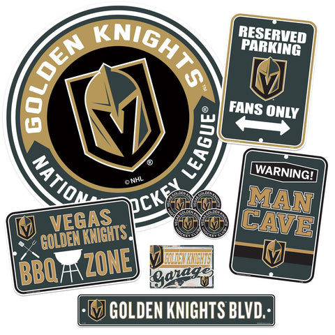 Vegas Golden Knights Ultimate Fan Set 7 piece
