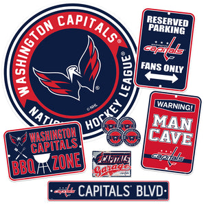 Washington Capitals  Ultimate Fan Set 7 piece
