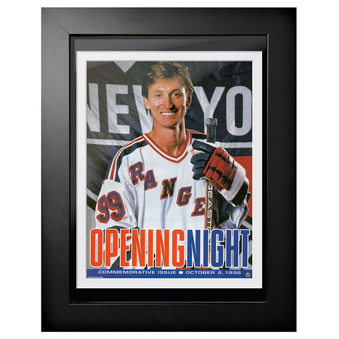 New York Rangers Program Cover - Wayne Gretzky Opening Night