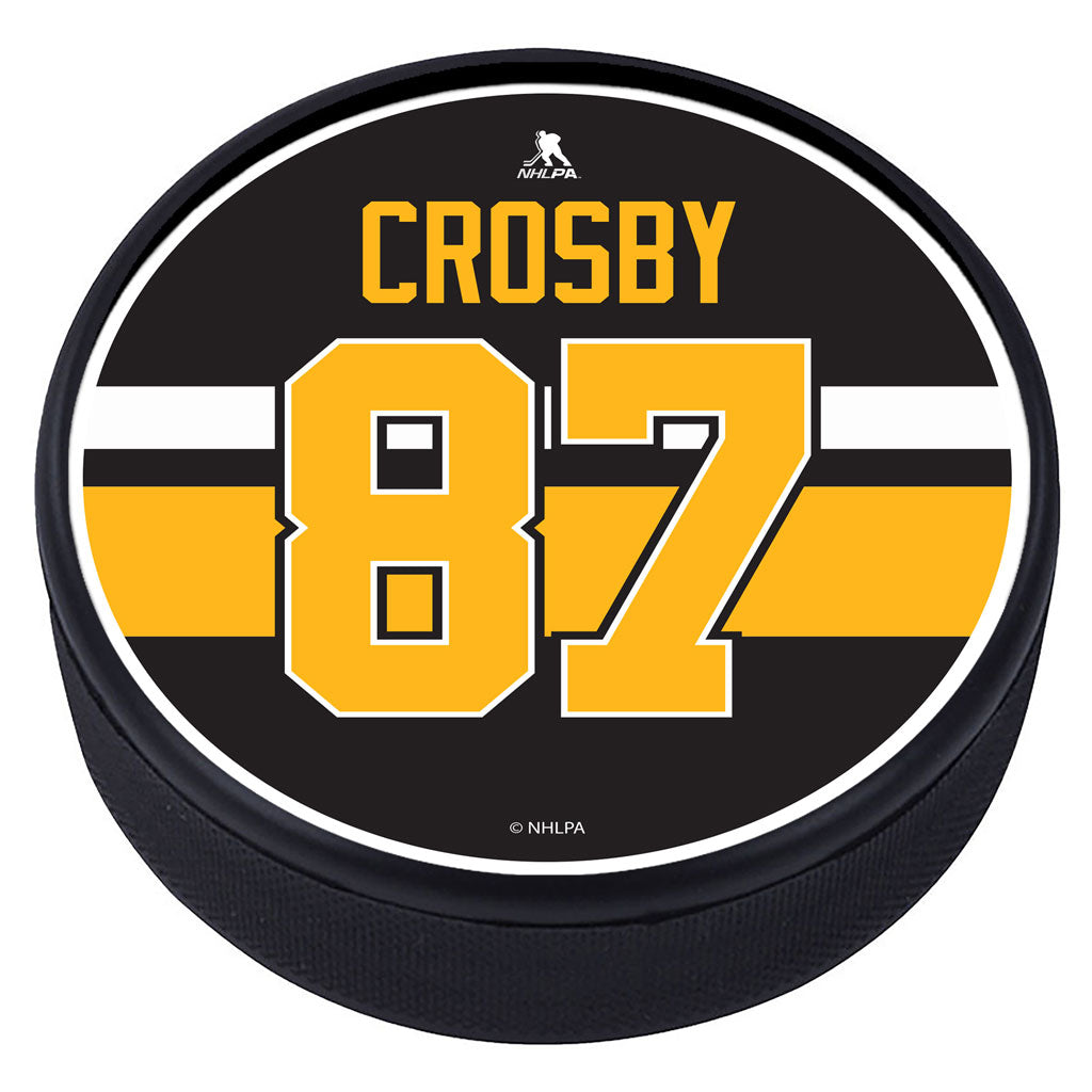 Pittsburgh Penguins™ S. Crosby Souvenir Player Puck