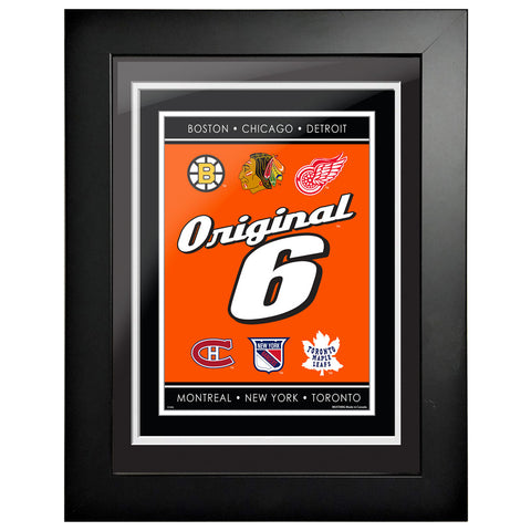 Original 6-12x16 Framed Artwork-Script