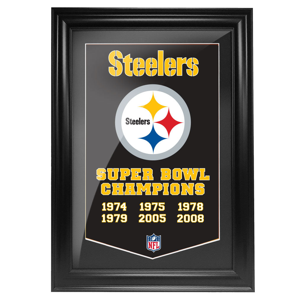 Pittsburgh Steelers 12x16 Team Empire Framed Artwork