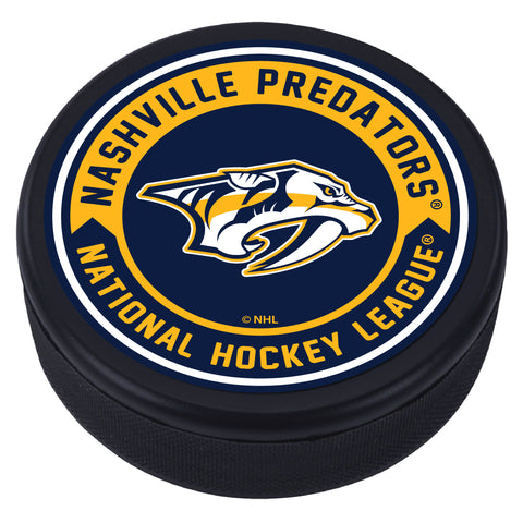 Nashville Predators Arrow Textured Puck