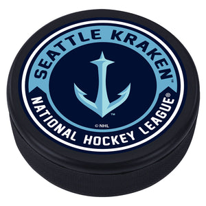 Seattle Kraken Textured Anchor Arrow Puck
