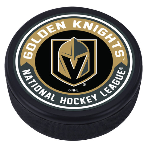 Vegas Golden Knights Arrow Textured Puck