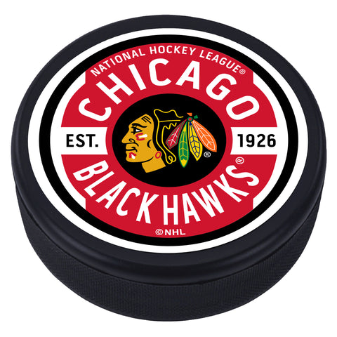 Chicago Blackhawks Gear Textured Puck