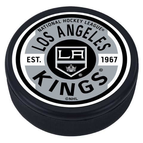 Los Angeles Kings Gear Textured Puck